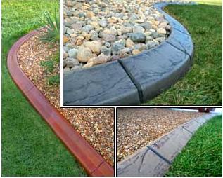 Las Vegas Lawn Curbing Concrete Pro Curb Landscaping Styles - Concrete landscape edging